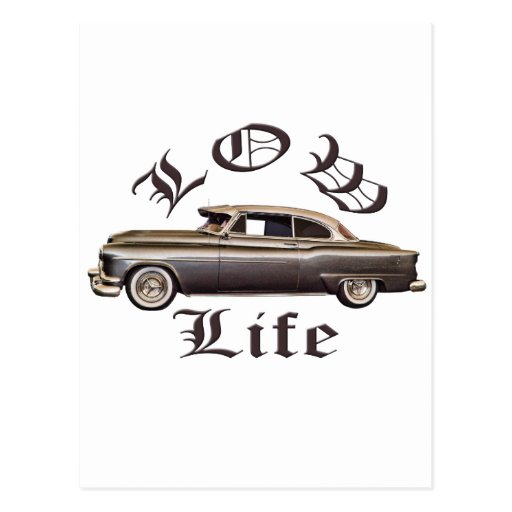 Low Life Oldsmobile Lowrider Postcards