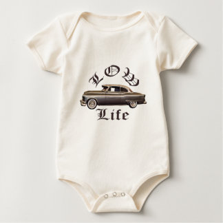 Low Life Oldsmobile Lowrider Baby Bodysuits