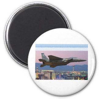 Low Nevada Fly-by 6 Cm Round Magnet