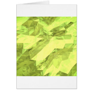 Low poly abstract greeting card