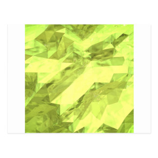 Low poly abstract postcard
