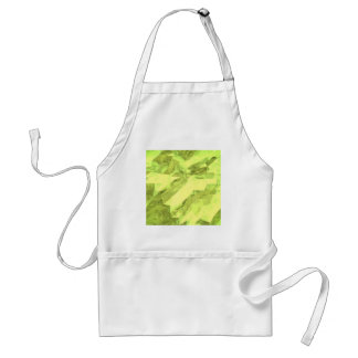 Low poly abstract standard apron