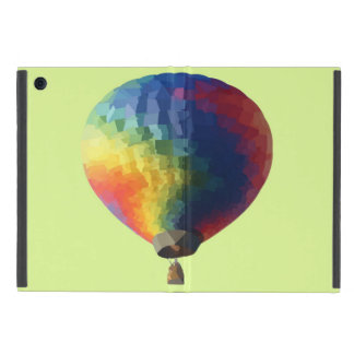 Low Poly Air Balloon Cases For iPad Mini