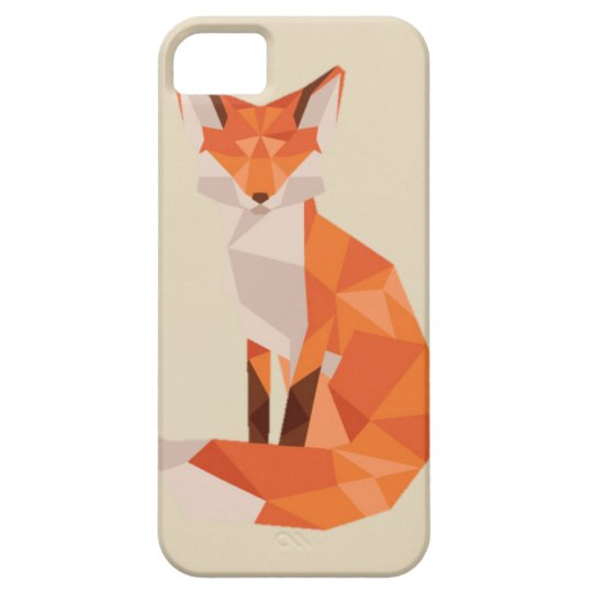 Low Poly Beautiful Fox IPhone 5/SE/5S Case