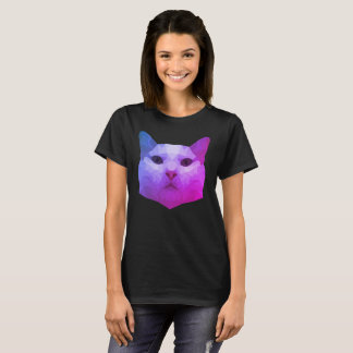 Low Poly Cat T-Shirt