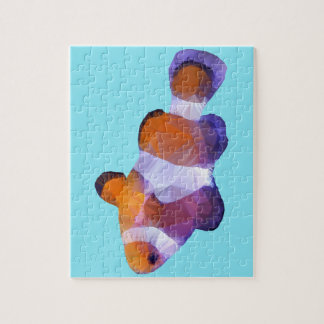 Low Poly Clown Fish Jigsaw Puzzle