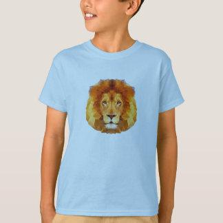 Low poly design. Lion illustration T-Shirt