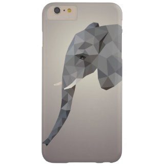 Low poly elephant graphic art Iphone case