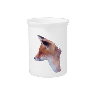 Low Poly Fox Pitcher