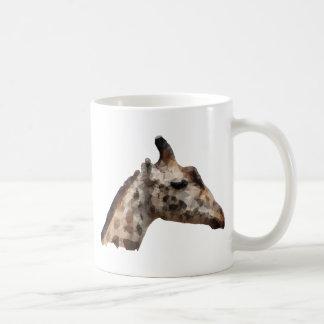 Low Poly Giraffe Coffee Mug
