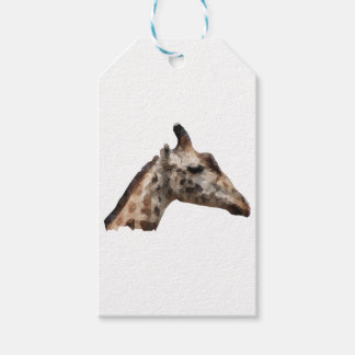 Low Poly Giraffe Gift Tags