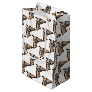 Low Poly Giraffe Small Gift Bag