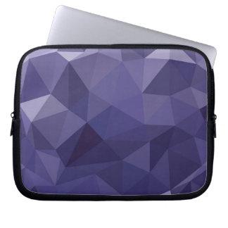 Low-Poly Purple Laptop Sleeve
