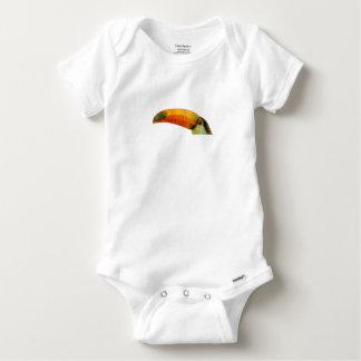 Low Poly Toucan Baby Onesie