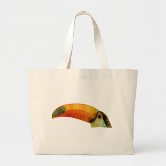Low Poly Toucann Large Tote Bag