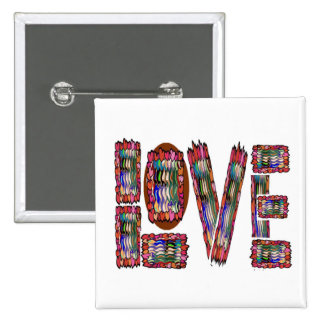 Low Price MOTIVATIONAL Tool  NUMBER ONE LOVE TXT 15 Cm Square Badge