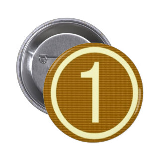 Low Price MOTIVATIONAL Tool  NUMBER ONE LOVE TXT 6 Cm Round Badge