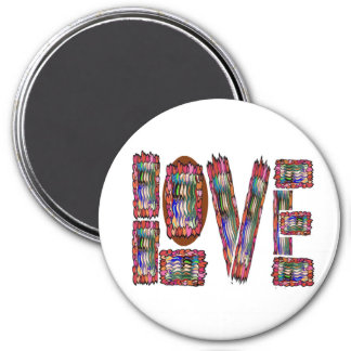 Low Price MOTIVATIONAL Tool  NUMBER ONE LOVE TXT 7.5 Cm Round Magnet
