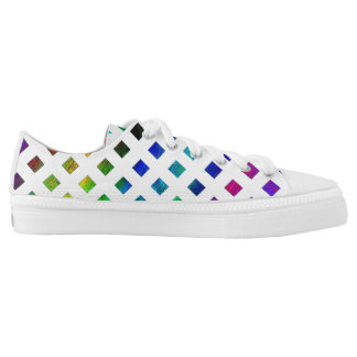 Low rainbow studded converse Designer Sneakers