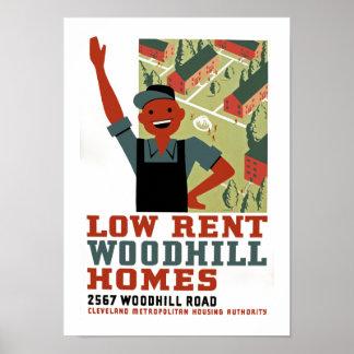 Low Rent Poster