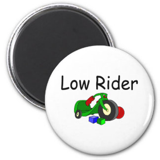 Low Rider 6 Cm Round Magnet