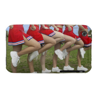 Low Section View of a Group of Cheerleaders Case-Mate iPhone 3 Case
