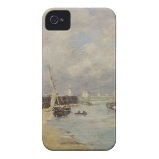 Low Tide at Trouville, 1895 (oil on panel) iPhone 4 Case-Mate Case
