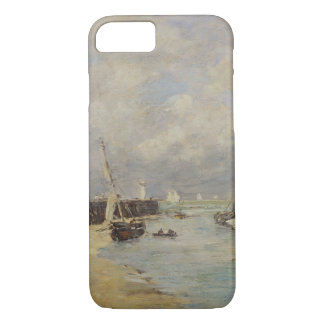 Low Tide at Trouville, 1895 (oil on panel) iPhone 8/7 Case