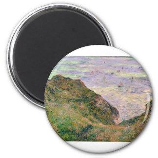 Low Tide at Varengeville (1882) 6 Cm Round Magnet