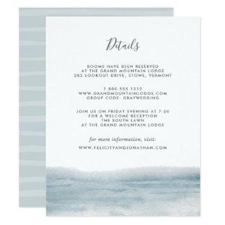 Low Tide Guest Information Card
