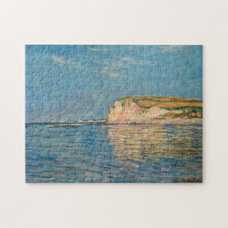 Low Tide Pourville near Dieppe Monet Fine Art Jigsaw Puzzle