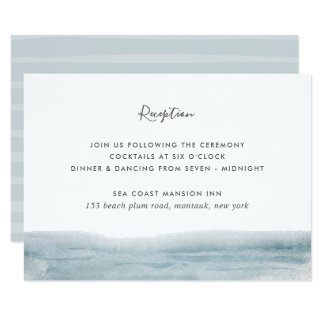 Low Tide Reception Enclosure Card