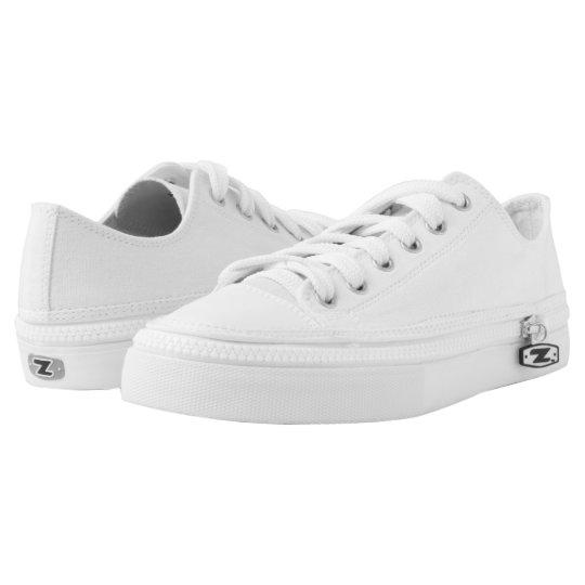 Custom Zipz Low Top Shoes, UK: 3 / EUR: 35.5