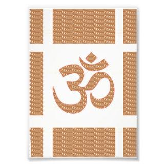 LowCost DECORATIONS on KODAK Paper : OM Mantra Oum Photograph