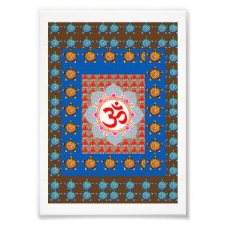LowCost DECORATIONS on KODAK Paper : OM Mantra Oum Photo