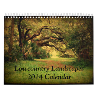 Lowcountry Landscapes 2014 Calendar