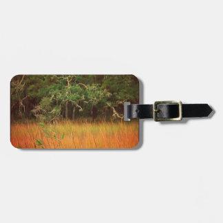 Lowcountry Marsh Scene Luggage Tag