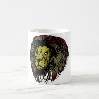 Löwe Löwenkopf lion head Kaffeetasse