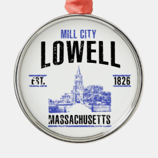 Lowell Christmas Ornament