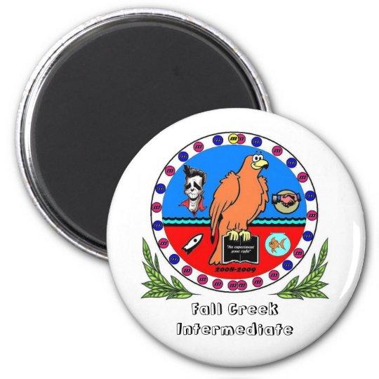 Lowell Homeroom seal locker magnet