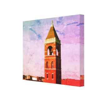 Lowell MA Roof Top Series Wrapped Canvas