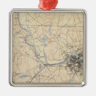 Lowell, Massachusetts Christmas Ornament