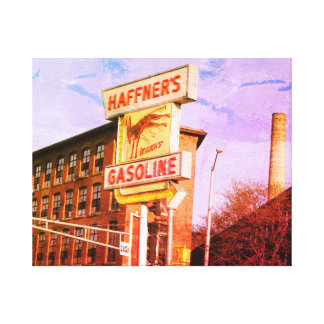 LOWELL MASSACHUSETTS HAFFNERS WRAPPED CANVAS PRINT