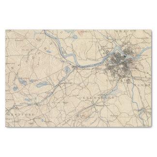 Lowell, Massachusetts Tissue Paper