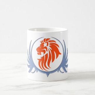 Löwenkopf lions head kaffee tasse