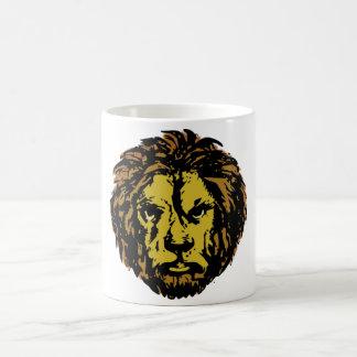 löwenkopf löwe lion head kaffee haferl