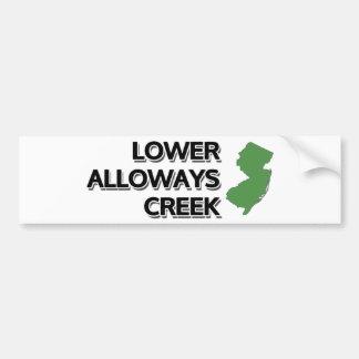 Lower Alloways Creek, New Jersey Bumper Sticker