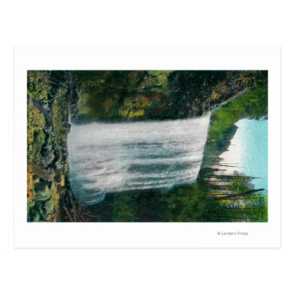 Lower Bridal Veil Falls on Colubia River Postcard