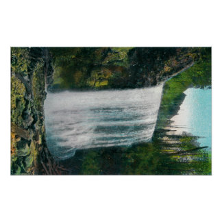 Lower Bridal Veil Falls on Colubia River Posters