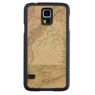 Lower Canada and New Brunswick Carved Maple Galaxy S5 Case
